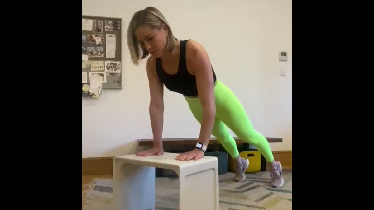 Image for the Tweet beginning: Hold your first push up