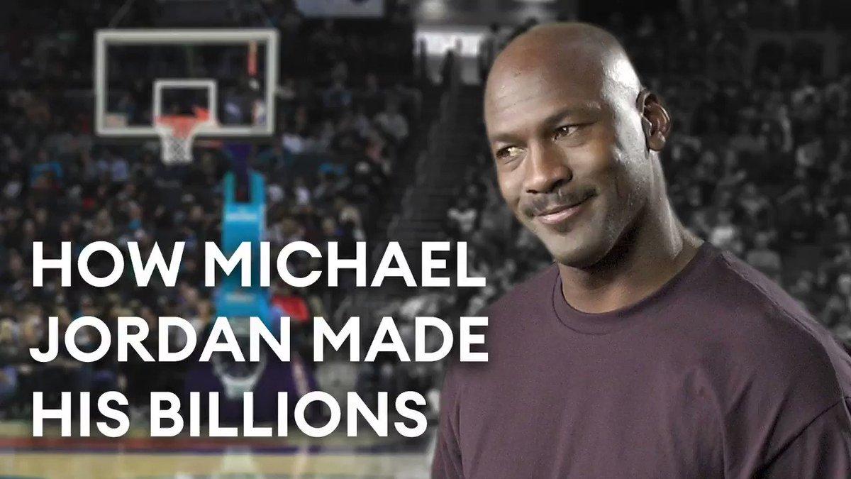 Michael Jordan's salaries over 15 NBA seasons:       $94 million   Jordan's net worth today: $2.1 billion https://t.co/bWVS4OldJa