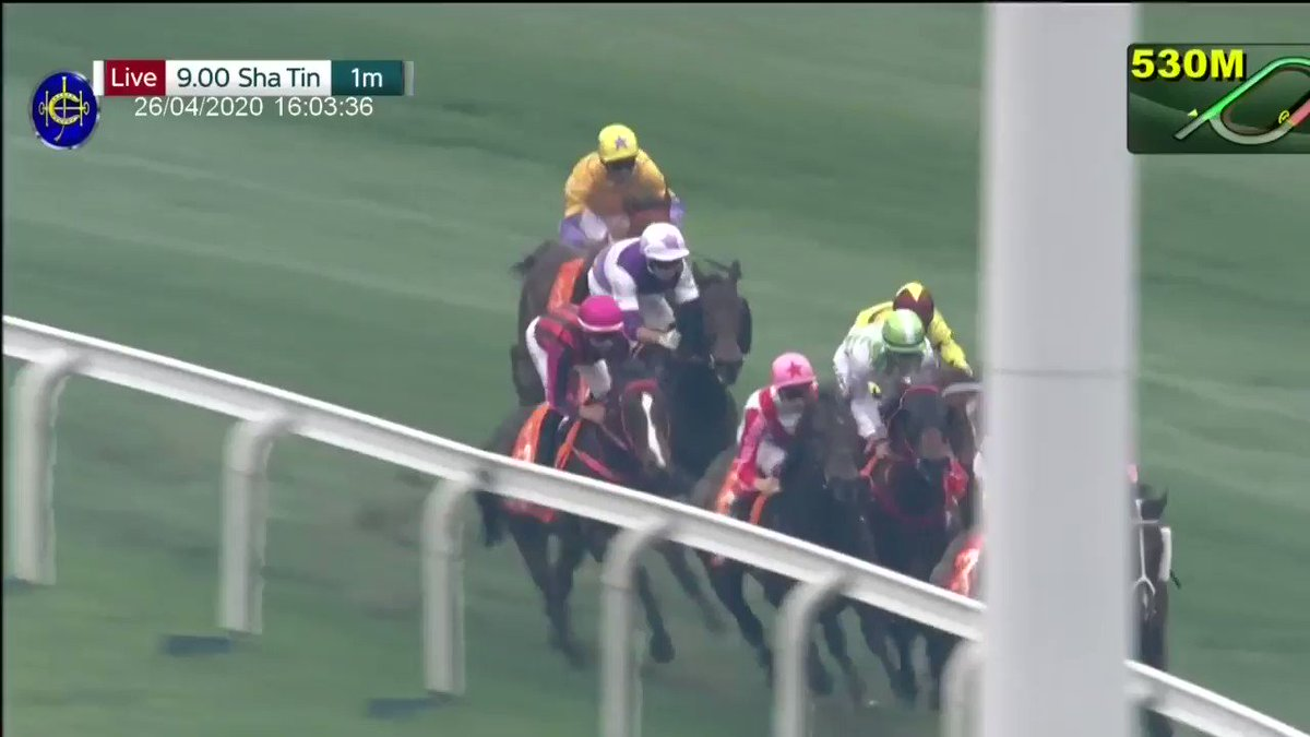 What a race - but it's heartbreak for the history-seeking Beauty Generation! Southern Legend just beats Hong Kong's legend in the Group 1 FWD Champions Mile...  #HKracing https://t.co/ADWRPcbto2