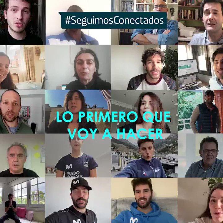 ¡Ya queda menos!!   🙌🏼Gracias @Carlos_Verona, @CarolinaMarin, @chemitamartinez, @ferranadria, @JAMielgo, @Jgomeznoya, @lucaseguibar, @RafaelNadal, @Reginoherma, @SitaphaSavane, @vonRichetti y a nuestros compañeros por compartir sus planes para cuando esto pase #SeguimosConectados https://t.co/CGs2rqs4V9