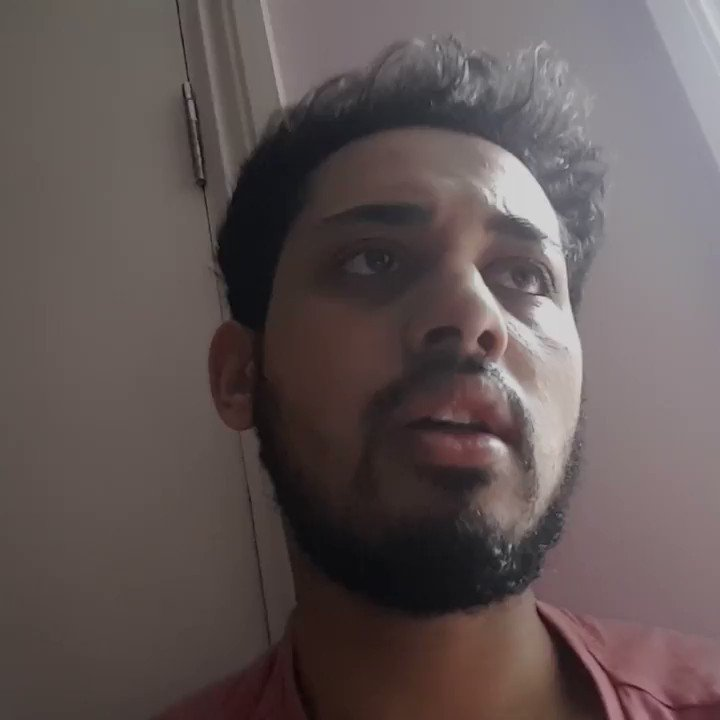 """""""I can't breathe, I'm lying on my side because it makes it easier for me to breathe."""" In April we met medical student Ahmed who had Covid-19 symptoms. This is what coronavirus looks like. Watch What's It Like To Catch Coronavirus on All 4: channel4.com/programmes/wha…"""