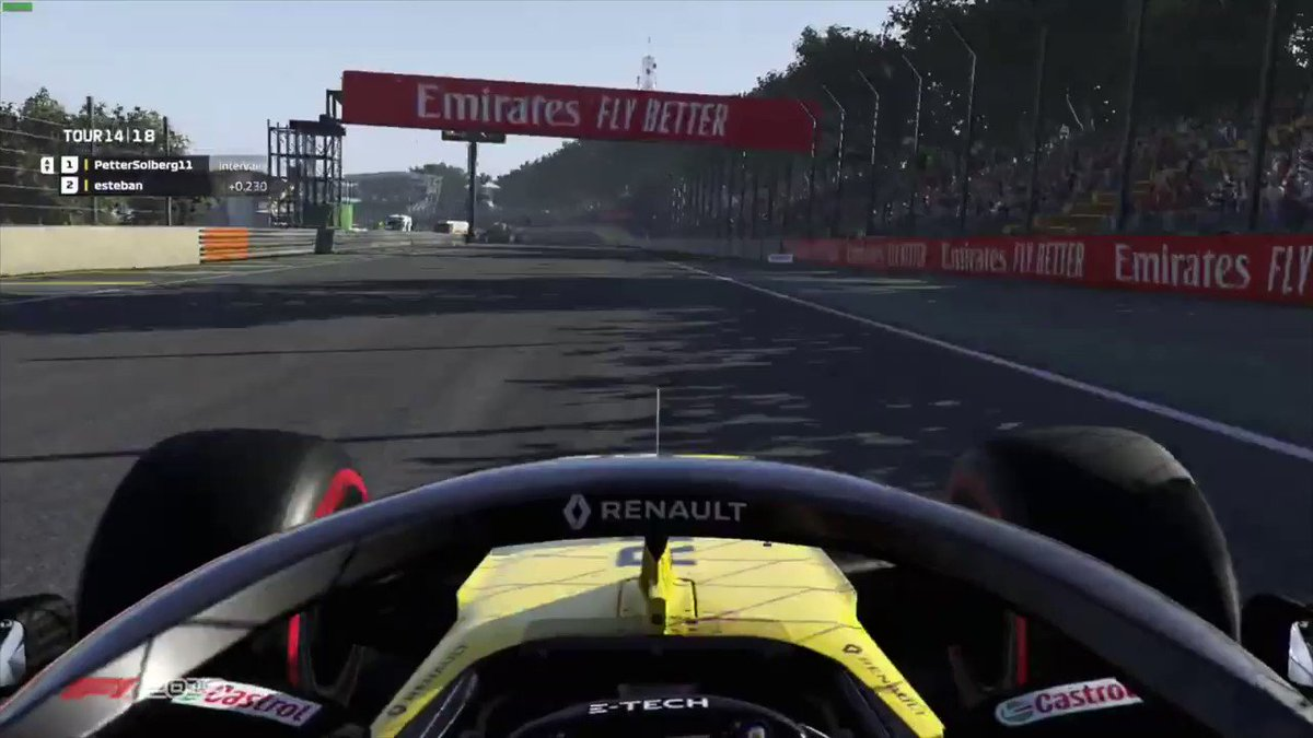 "🗣 ""You need to press the button!"" Key info being shared there... Full vid at: https://t.co/FfBrTbBwAi   #RSspirit #F1Esports @OconEsteban @Petter_Solberg"