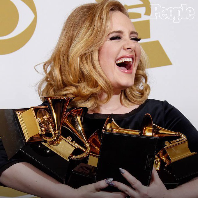 Happy birthday to the amazing Adele!  She always knows how to steal the show.