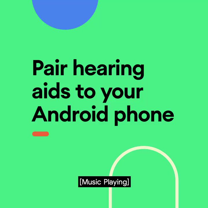 Bluetooth technology on Android makes it easy to pair hearing aids directly to your phone. Follow the steps to enjoy music and calls right out of the box: https://t.co/NDpkZcPopM https://t.co/L3JdPWzGE7