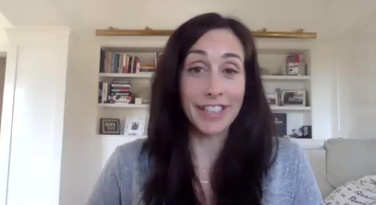 .@WorkinMoms creator and star Catherine Reitman (@reitcatou) says motherhood always provides story ideas. The show has dropped its fourth season on @Netflix. https://t.co/W7Ju6P8kG9