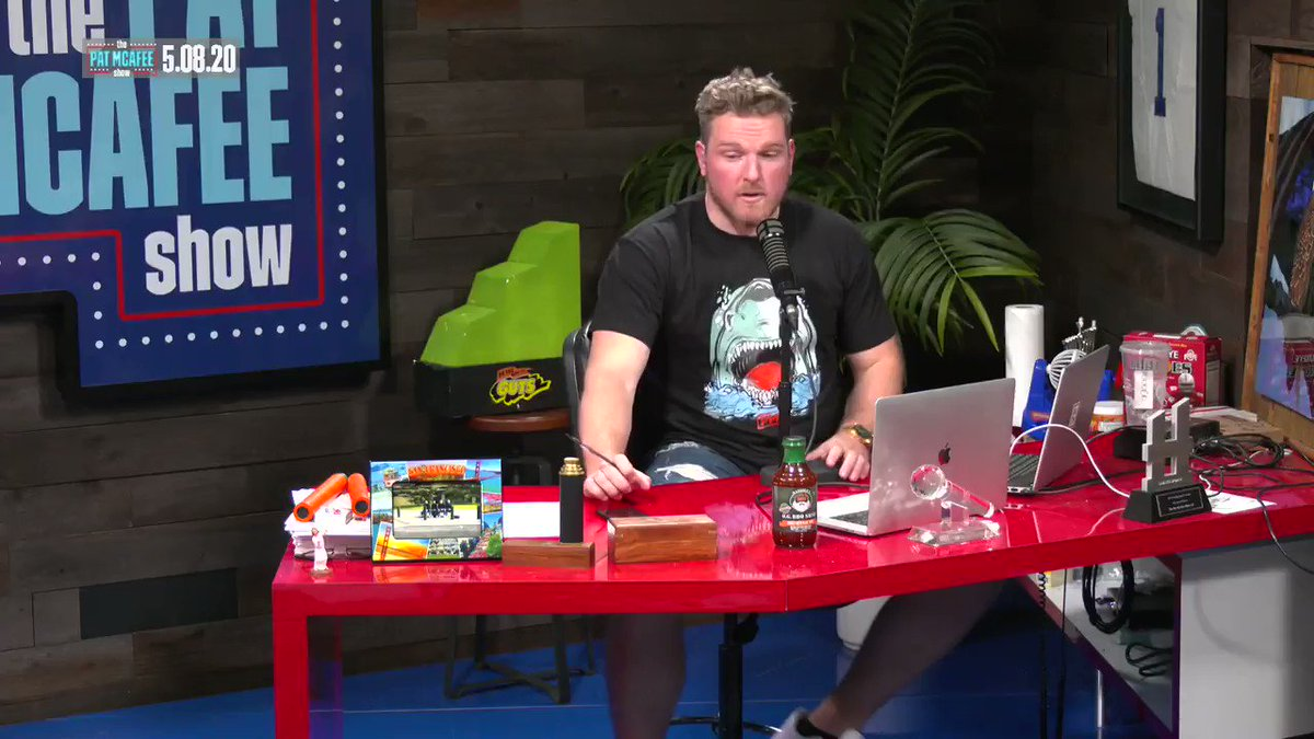 Equipment managers are my people.. Theyre willing to do whatever, however, whenever for a team to win #PatMcAfeeShowLIVE