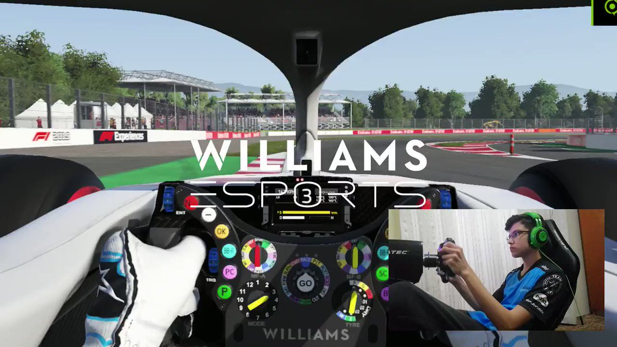 We've done thousands of laps around here in real life, but jump on board to see a virtual lap of the @Circuitcat_eng 🎮  #VirtualGP #WilliamsEsports #WeAreWilliams 💙