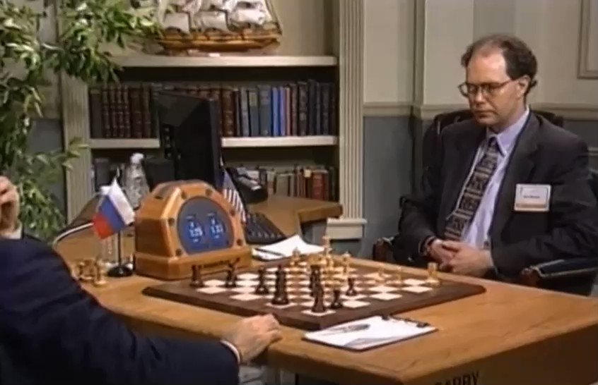 On this day in 1997: IBM's Deep Blue becomes first computer to defeat a chess champion in match play. https://t.co/H660xSJHhe