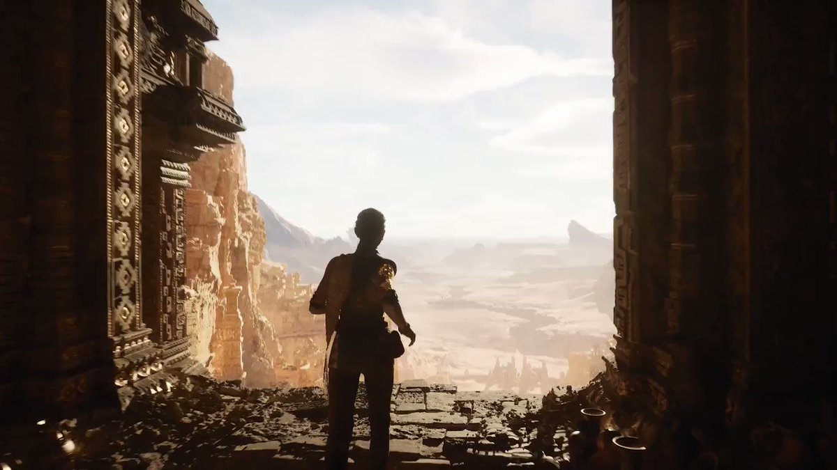 This. Is. PlayStation 5. In Real Time. And it's gameplay of a new demo created by @epicgames https://t.co/4jariz10zg