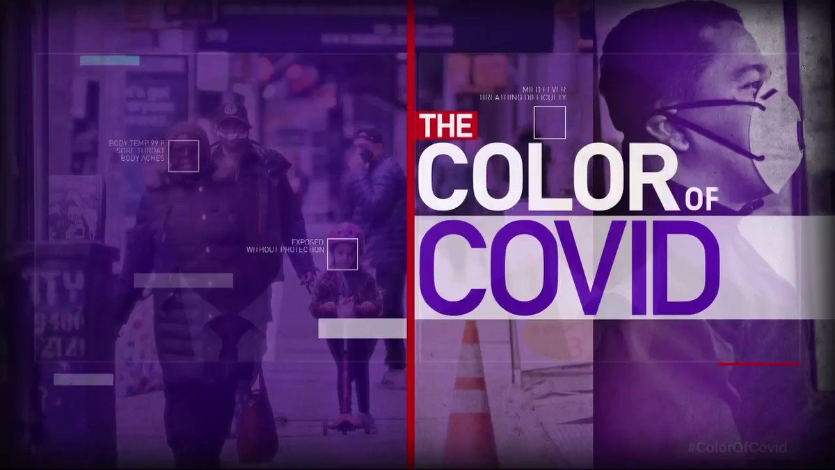 """""""The numbers are sobering and they begin to reveal the full challenge that we are all facing right now,"""" says @DonLemon. Here's what we know: - More than 87,000 Americans have died from coronavirus. - Of these deaths, more than 17,000 are black Americans. #ColorOfCovid"""