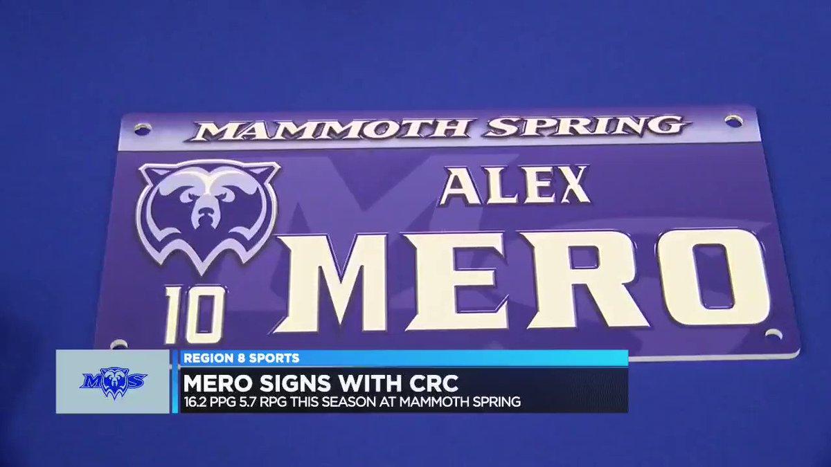 Image for the Tweet beginning: Mammoth Spring's Alex Mero racked