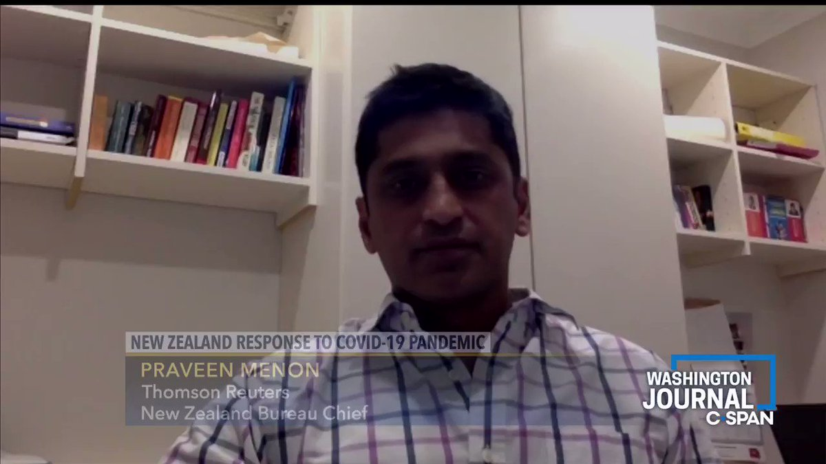 .@thomsonreuterss @JournoPraveen on the governments financial aid response in New Zealand: Theres a 50 billion dollar COVID package that was released... The response to the economy is going to be as focused as it was on the health aspect of this pandemic