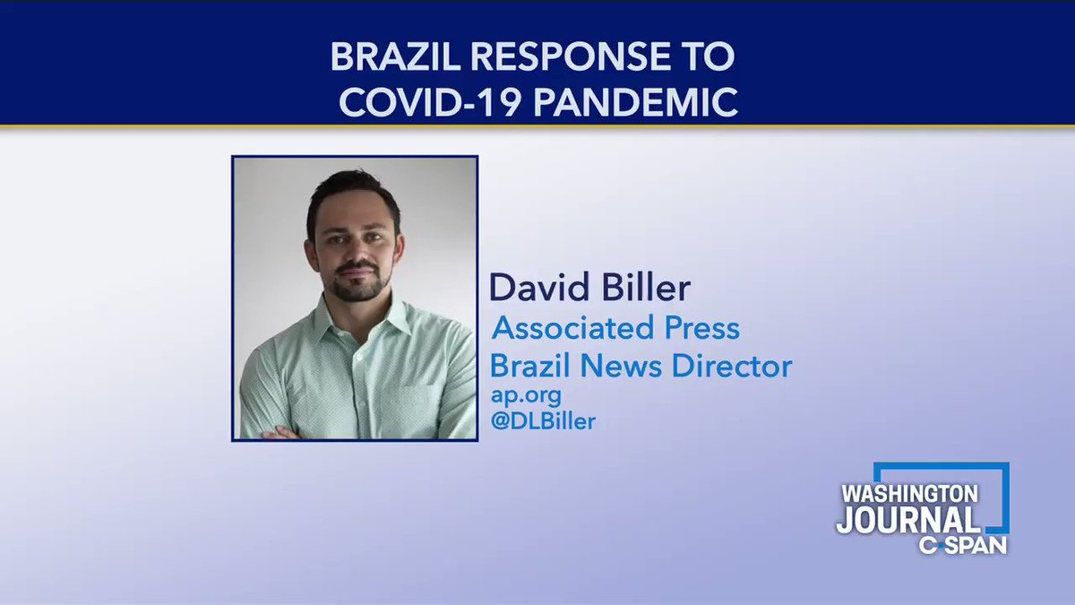 .@DLBiller on why Brazils health minister was fired & Brazils current restrictions: The President [Jair Bolsonaro] was pushing for widespread prescription of chloroquine & this health minister would not get behind it. He said he wouldnt damage his reputation by doing so