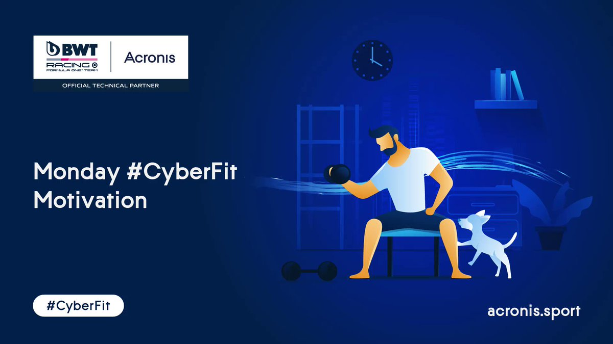 How many sit-ups can you do in 30 seconds? ⏱  Our friends at @Acronis challenged @SChecoPerez to kick off the week in #CyberFit style... and now it's your turn! 🤜🤛  Give it a go and drop us a reply with your score! 💪  #MondayMotivation #F1