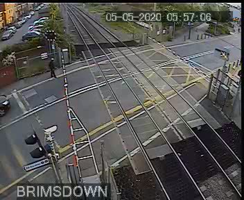This man lifted a level crossing barrier, wandered across the track and missed a passing train by less than a second. Dont be like this man. We have other things to deal with at the moment. And we cannot stress enough how dangerous this behaviour is.