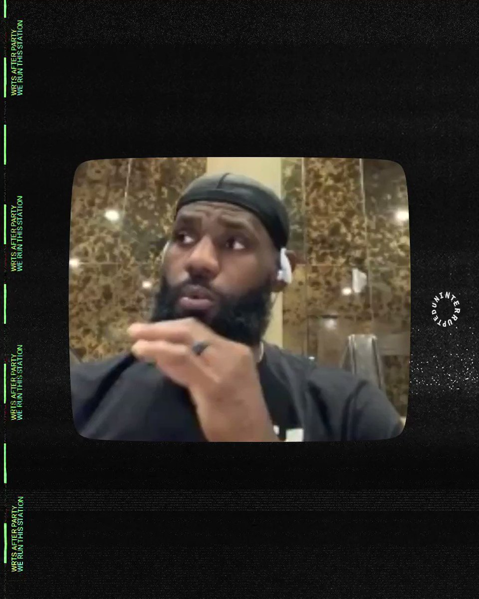 """""""You don't understand...I didn't think Michael Jordan was real. I only thought he lived in the TV"""" 😂📺  @KingJames recalls meeting MJ for the first time on #WRTS After Party w/ @mavcarter and @pr_RWTW  📺: https://t.co/3JLpFUpAG8 🎧: https://t.co/nEjQbbcMMG https://t.co/vLyhgCHl4u"""
