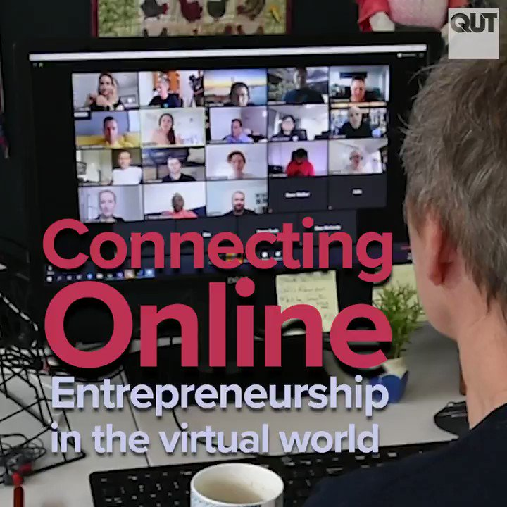 #QUT student #entrepreneurs are staying connected via virtual catch-ups and 1-on-1 #mentor sessions to share ideas and build businesses. @QUTBusiness @QUTEship @ProfBarrett @greydenscott #Entrepreneurship #LearningOnline #StudyOnline #StudyBusiness