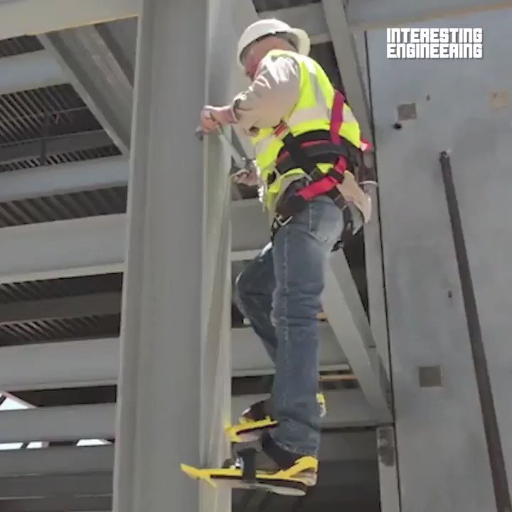 This column climbing tool will have you feeling like Spider-Man!    @ColumnClimber #engineering pic.twitter.com/lpgbHF7JXl
