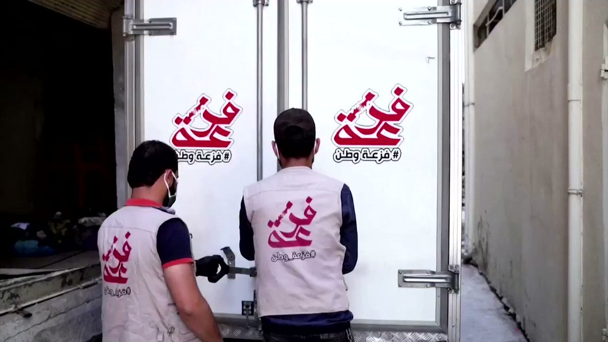 Here is how a group of Iraqi volunteers are taking solidarity online and delivering donations to peoples doorsteps
