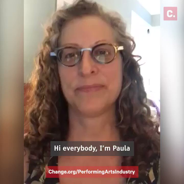 Paula Suozzi, executive stage director of @metopera, is petitioning to extend unemployment benefits so performing arts industry workers like her and her colleagues can stay afloat: Change.org/PerformingArts…