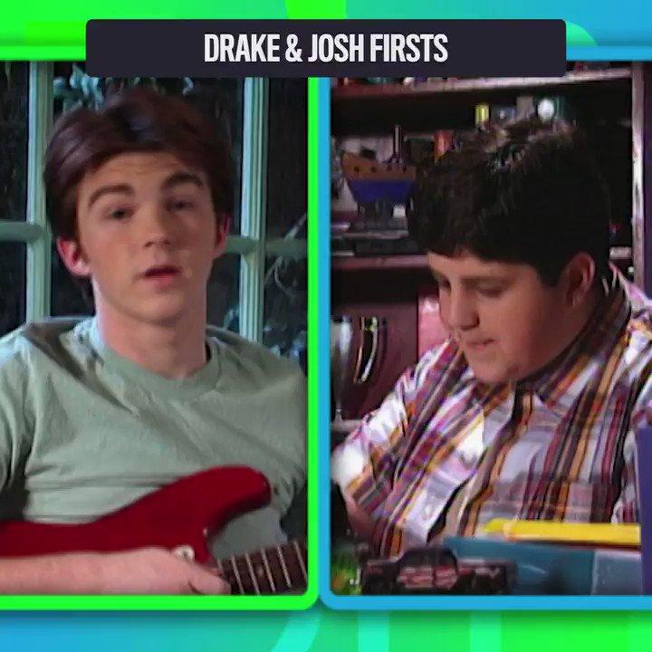 Megan's first prank! Josh's first EMPHASIS! Every #DrakeandJosh first.