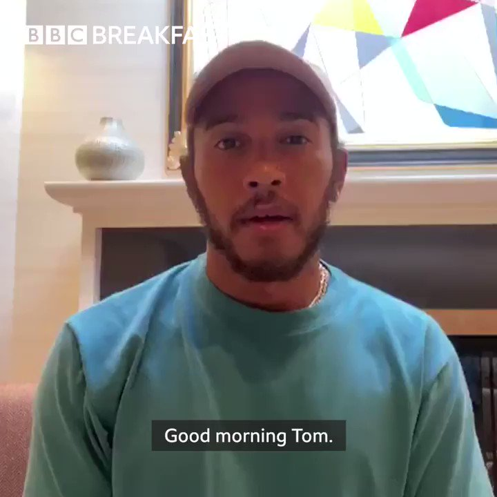 """""""I am in awe of you"""" @LewisHamilton has this message for @captaintommoore - soon-to-be #SirCaptainTomMoore More here: https://t.co/Kon4M9hWZw"""