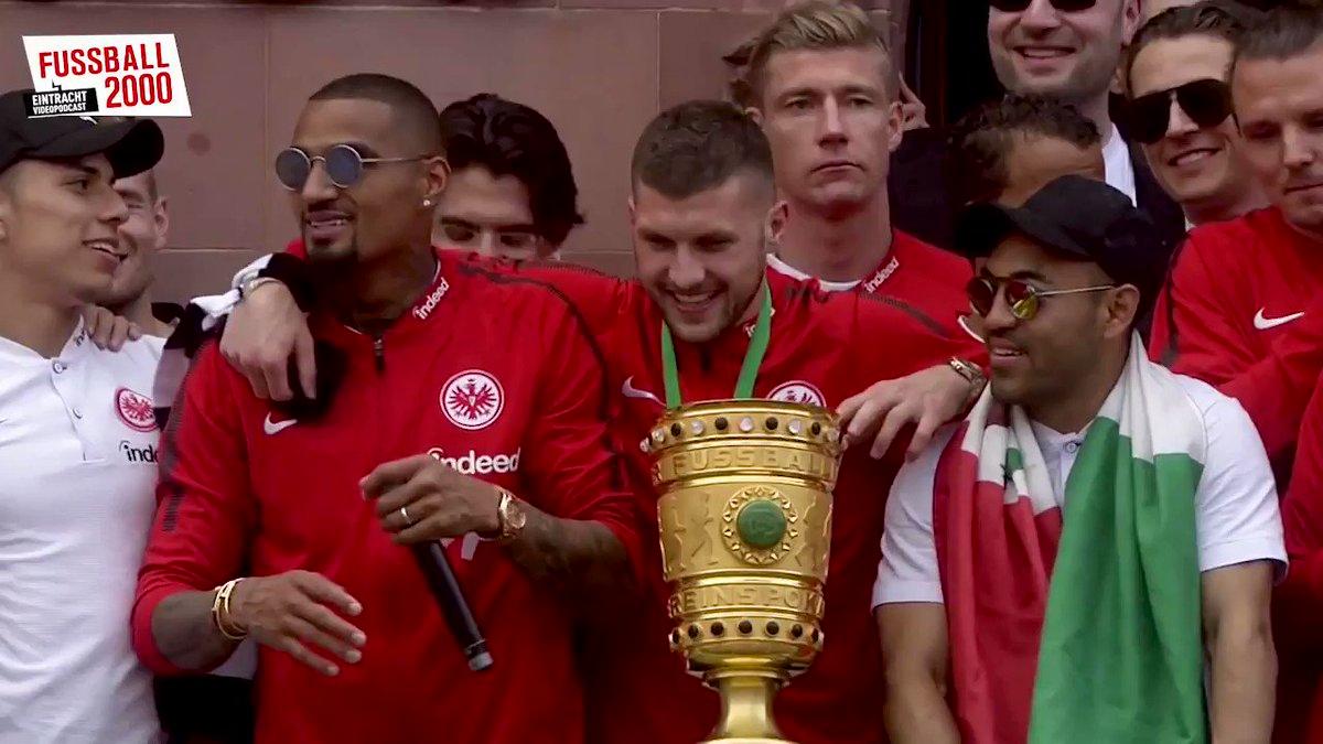 Frankfurt, am 20. Mai 2018. Still loving you, Bruda @KPBofficial. ❤️ #SGE #Pokalsieger