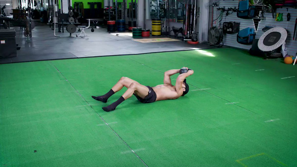 Image for the Tweet beginning: Here are 6 ab-crushing exercises