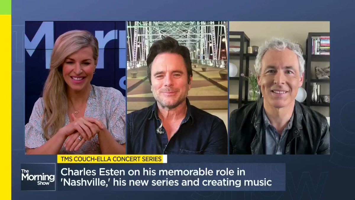 TMS Couch-ella Concert Series: @CharlesEsten performs his new single 'Sweet Summer Saturday Night' MORE: globalnews.ca/video/6968453/… @jmacspeaks @carolynglobal
