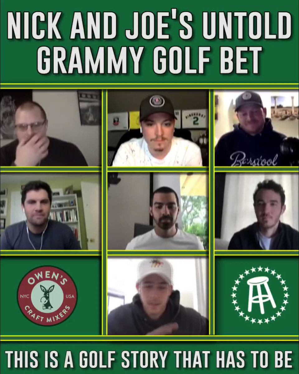 The Untold #GRAMMYs Golf Bet Story with @shaymooney has arrived. Thanks @foreplaypod for having us on the show ⛳️ smarturl.it/JB_ForeplayPod