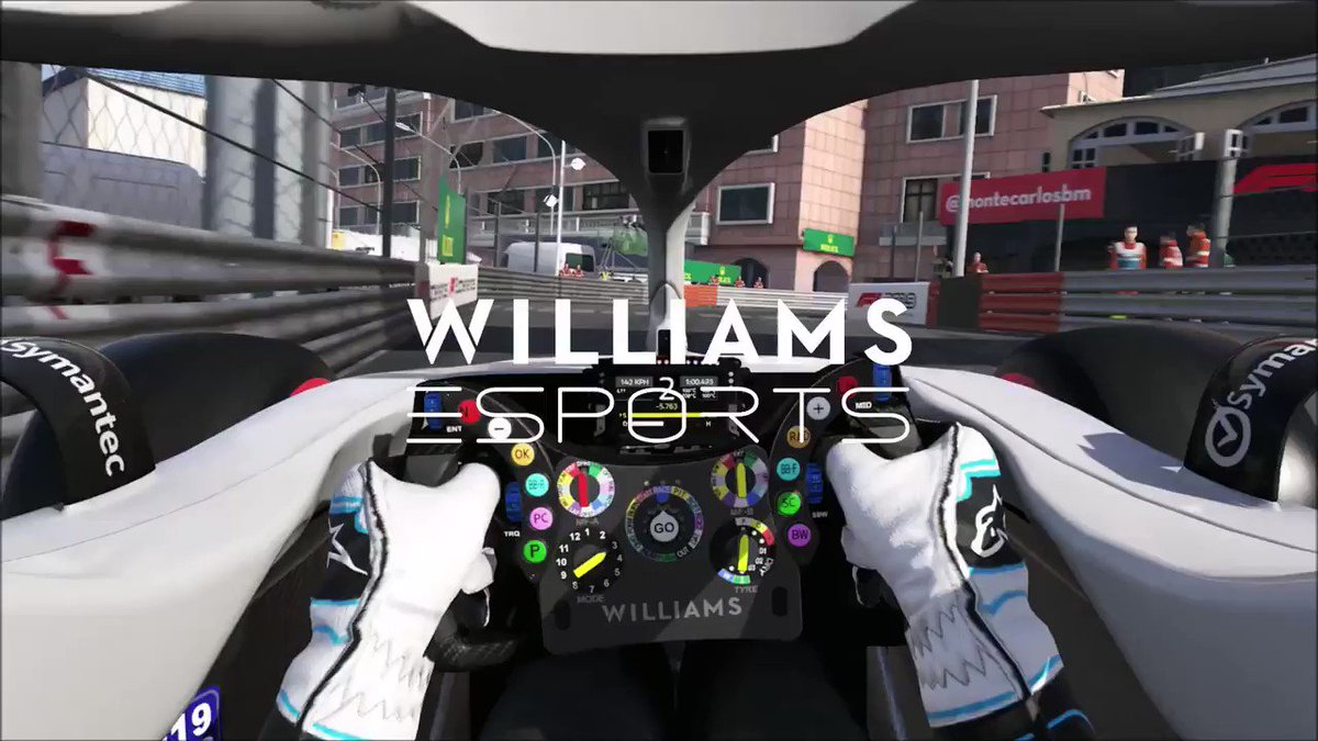 Threading the eye of the needle 👏  Check out a hot lap of Monaco with @WilliamsEsports 👇  #WilliamsEsports #WeAreWilliams 💙