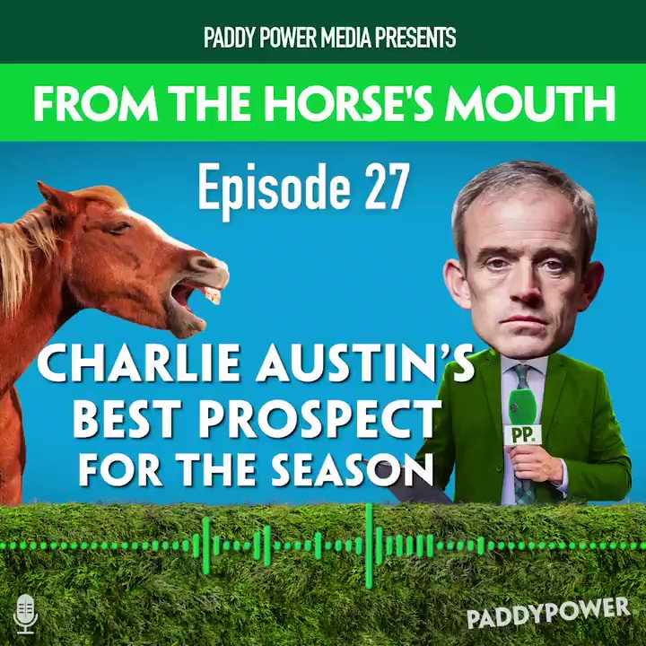 The lads were joined by @chazaustin10 this week and he gave them a name to watch out for when racing returns. New episode of From The Horses Mouth out now! LISTEN & SUBSCRIBE >>> podfollow.com/horsesmouth
