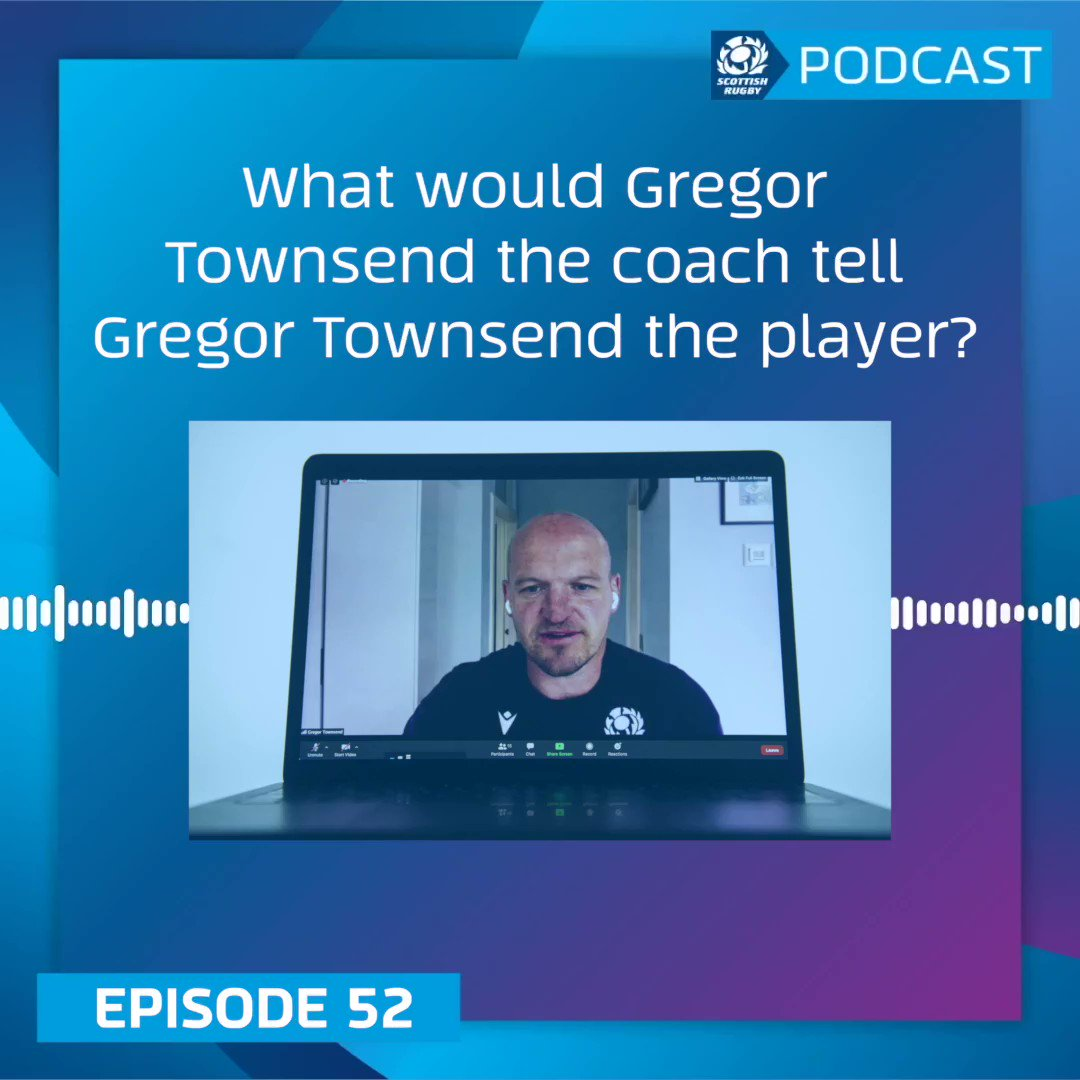 As I know the position I played in especially youre going to make mistakes Scotland Head Coach Gregor Townsend is our guest on this weeks Official Scottish Rugby Podcast. Listen 👇 Spotify » spoti.fi/2KAhWQf Apple Podcasts » apple.co/2xkmLcu