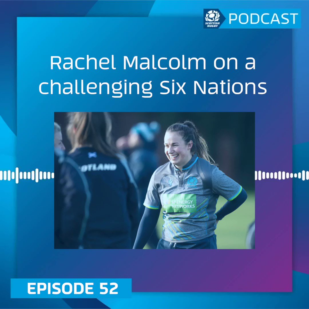 Scotland captain @rach_malcolm talks about the challenges they faced during the @Womens6Nations on this weeks Official Scottish Rugby Podcast. Listen 👇 Spotify » spoti.fi/2KAhWQf Apple Podcasts » apple.co/2xkmLcu