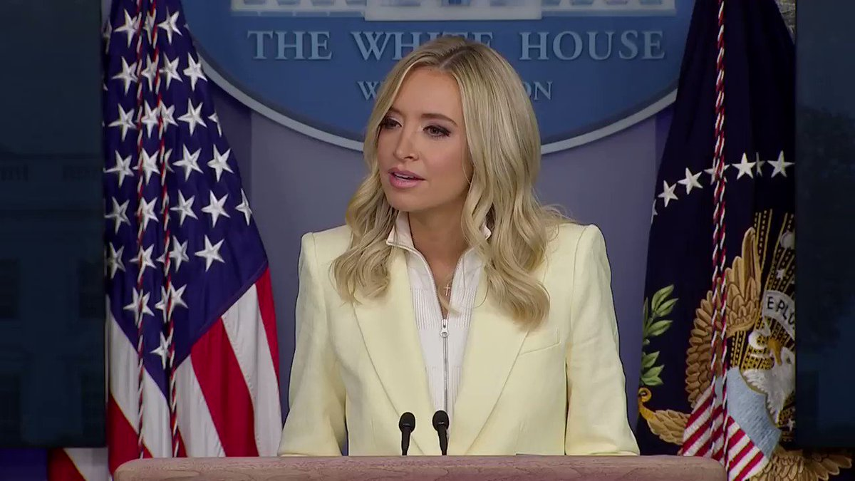 Reuters @jeffmason1 pushed back against Press Secretary Kayleigh McEnany's suggestion that reporters 'desperately' want churches to remain closed https://t.co/ciTUESE9Oz