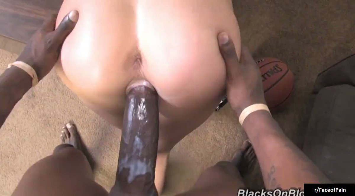 Huge dick in pussy insertion