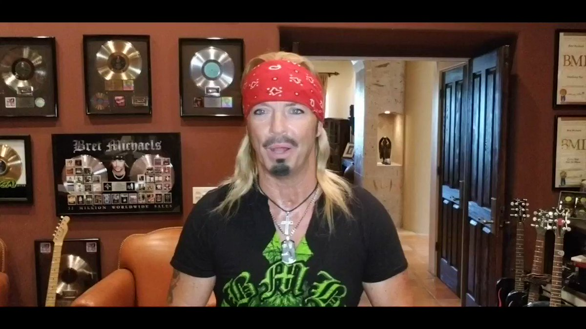 Even though he couldnt be with us in person for @MillerLite #CarbDay, @bretmichaels joined fellow rock legends for a virtual Rock 'n Roll Reunion. Watch legendary rock stars chat with @12WillPower and @jdouglas4 about their #CarbDay memories below! 📺: bit.ly/2Zr0CVN