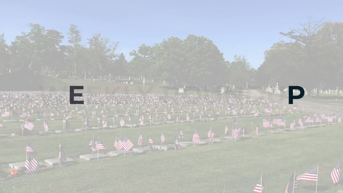 This #MemorialDay we honor all who have served. More than 600 volunteers are now pen pals with local veterans, like Ottavio, who just celebrated his 99th birthday with 200 cards. 20,000 flags and 5,500 flowers in Boston pay tribute to those who gave the ultimate sacrifice.pic.twitter.com/PyUFJSTGXP