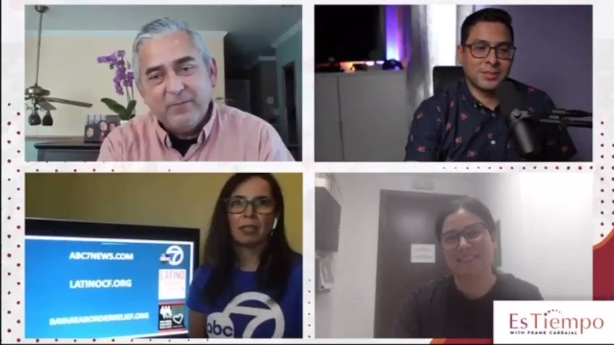 Community bands together & invests. @abc7newsbayarea D&I rep, Lilian Peña with Jo Lopez of @luna_kitchen on EsTiempo with Frank Carbajal. Send in your local favorites for @localish. #BeLocalish #localish #smallrestaurant #supportlocal #mexicanrestaurant #abc7noticias #abc7news