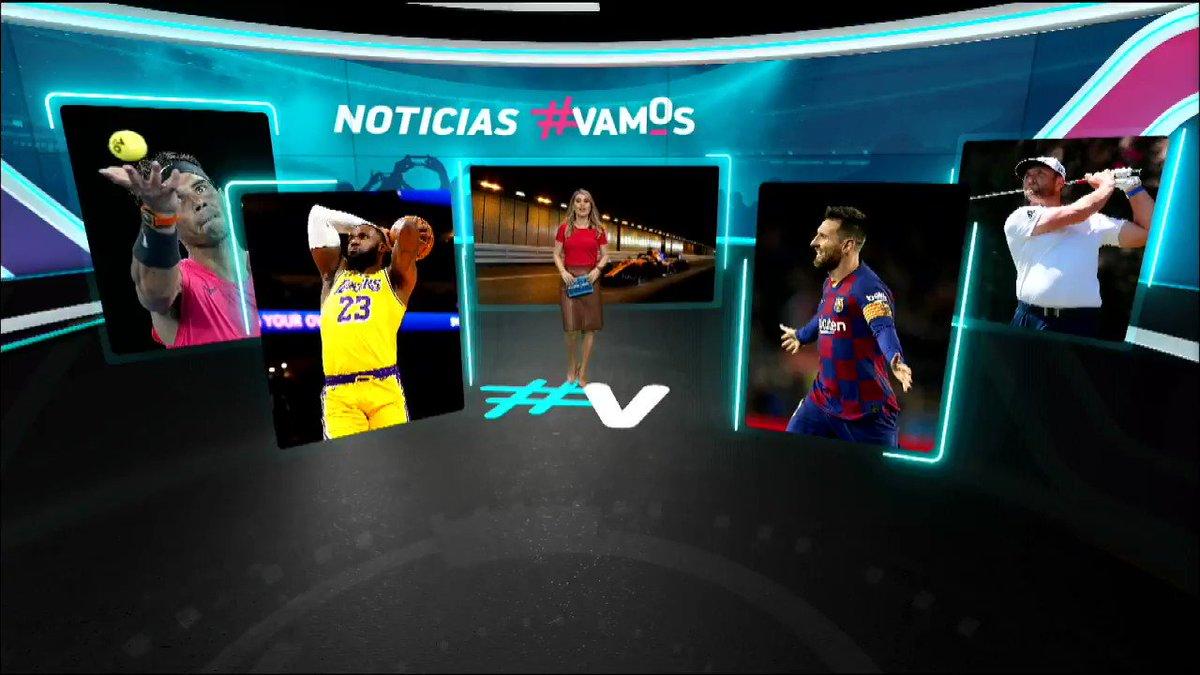 Porque todos los días pasan cosas, porque @vamos es deporte: #NoticiasVamos. https://t.co/DumAyZmuNB