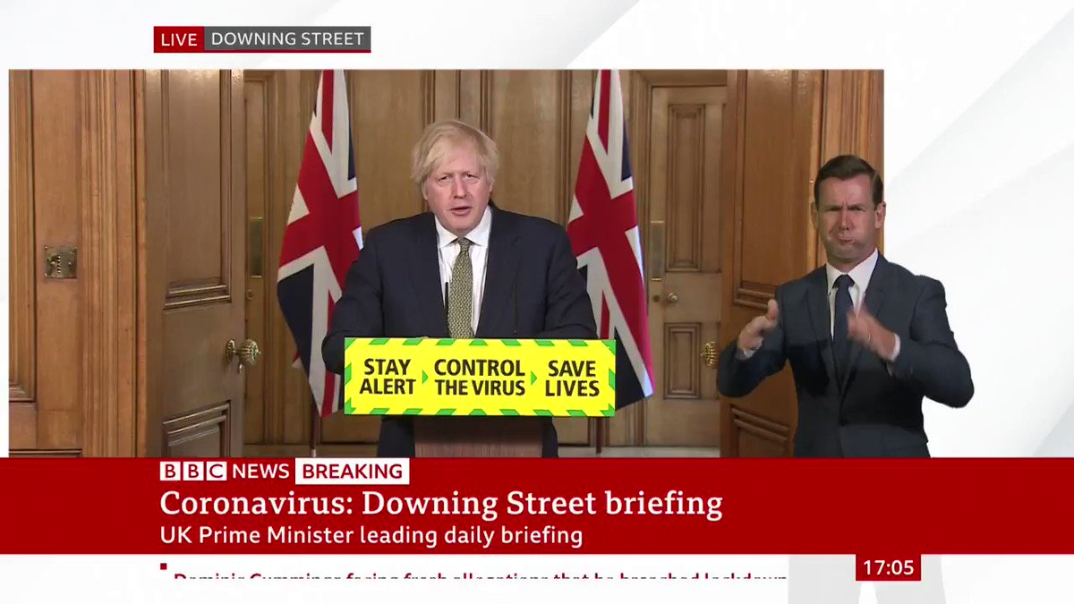"""""""I do believe we will be in a position to move to step two of our plan""""  Prime Minister Boris Johnson says the government will set out their plans """"in detail, in the coming days""""  http://bbc.in/2Zz1cRdpic.twitter.com/4WEQatepJe"""