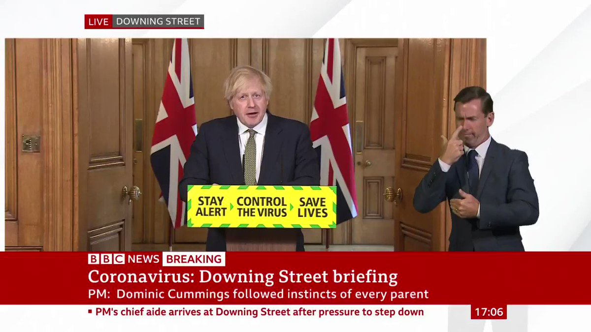 """Prime Minister Boris Johnson confirms the government intends for some schools in England to reopen on 1 June, with secondary schools to provide """"some contact"""" from 15 June  He says the """"final decision will be taken as part of the formal review"""" on Thursday http://bbc.in/2Zz1cRdpic.twitter.com/uXUKDELcjW"""