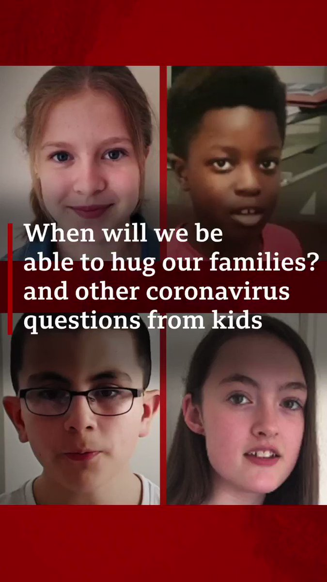 When can we hug our friends and family again? Dr Radha Modgil answers questions sent in from children, on how we can try and cope during these difficult times bbc.in/CoronavirusKids