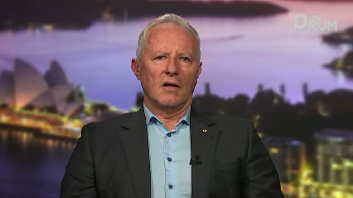 Were at war... you need to know who the enemy is, what their capability is and what theyre going to do in the future. Fmr NSW Fire Chief Greg Mullins says climate change shouldnt be a political issue. Do you agree? #TheDrum