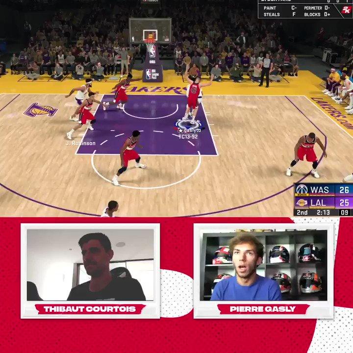 #TakeOnThibaut | Le récap' du dernier @NBA2K Sundays!   Les Wizards de @thibautcourtois face aux Lakers de @PierreGASLY!   #NBATogether https://t.co/RUZGW7zMUZ