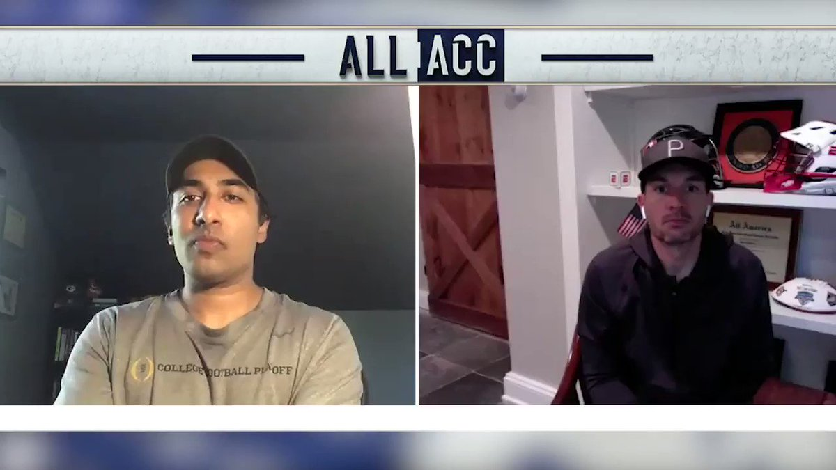 Its always lax szn for these guys 🥍😎 @AnishESPN and @PaulCarcaterra share some of their favorite @ACCMLAX moments.