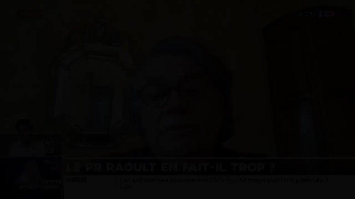 « L'article de la Tribune de Genève se termine sur les dangers de la #Chloroquine et il est écrit noir sur blanc que les dangers sont infimes. Pourquoi un médicament qui était en vente libre a été interdit il y a quelques semaines » ? #Raoult #Hydroxychloroquine #LCI