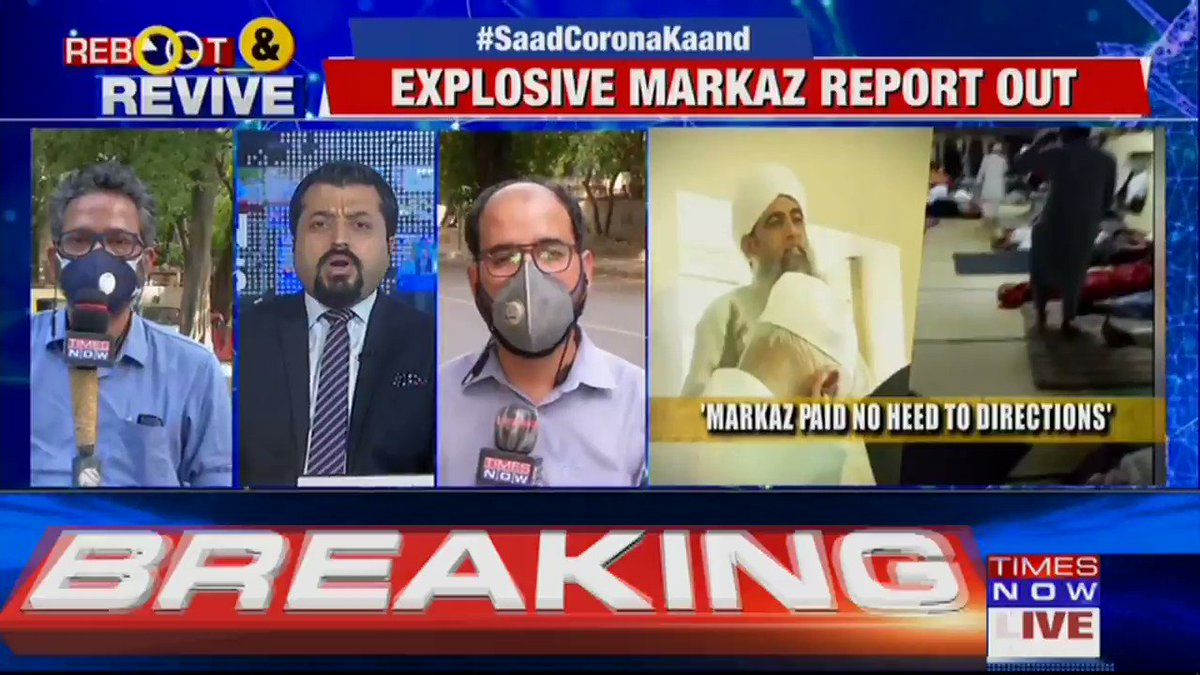 Explosive Markaz report shows they 'wilfully' infected India, Maulana Saad's defiance was 'deliberate' & for 2 weeks they 'bred' Corona. 'Islamophobia' lobby EXPOSED. 'Did Maulana Saad wage Corona Jehad?' Details by TIMES NOWs Bhavatosh. | #SaadCoronaKaand