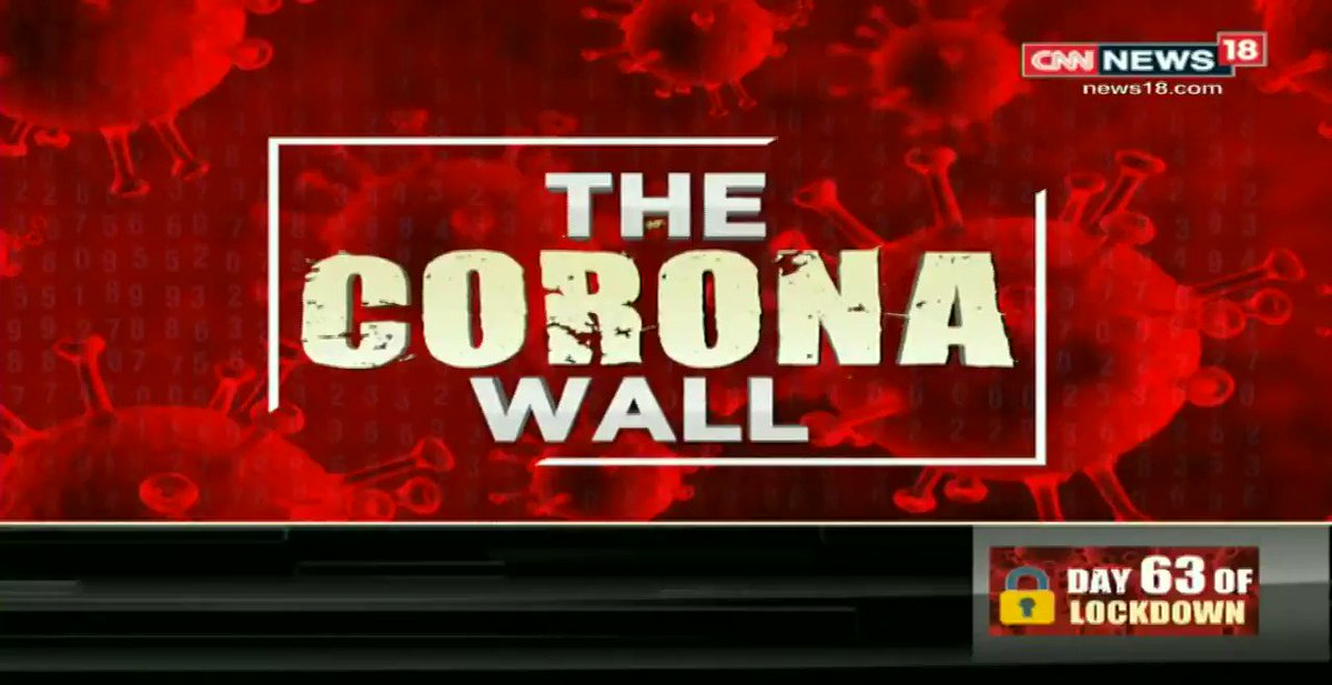 #IndiaFightsCOVID19 | India among 10-worst hit nations in the world.  @Zakka_Jacob breaks down the numbers on #News18CoronaWall  Watch #Viewpoint with Zakka Jacob. pic.twitter.com/Vd89uxgz2x