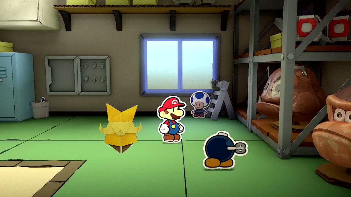 Spaciger roter Helm, Mario! Gegen wen oder was er da wohl kämpft?